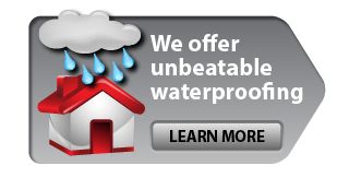 We offer unbeatable waterproofing - Learn more